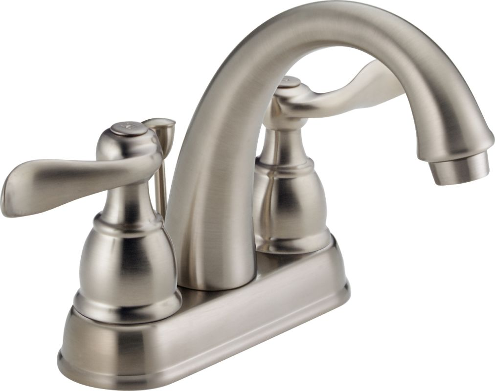 Delta Kitchen Faucets Warranty Faucetcom B2596lf Ss In Brilliance Stainless By Delta