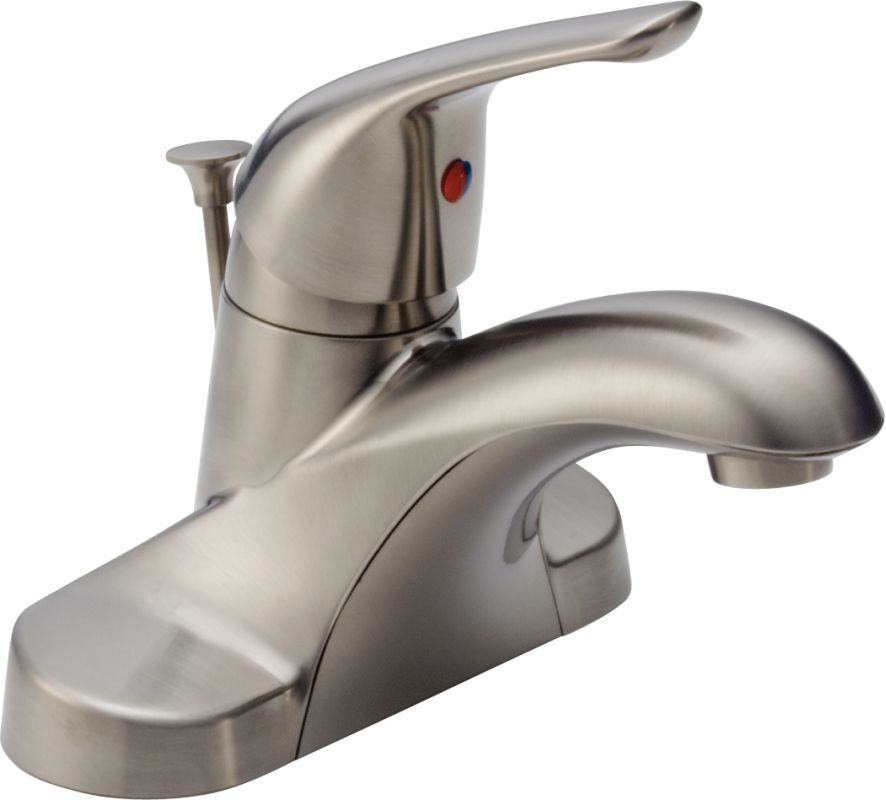 Faucet.com | B510LF-SS in Brilliance Stainless by Delta