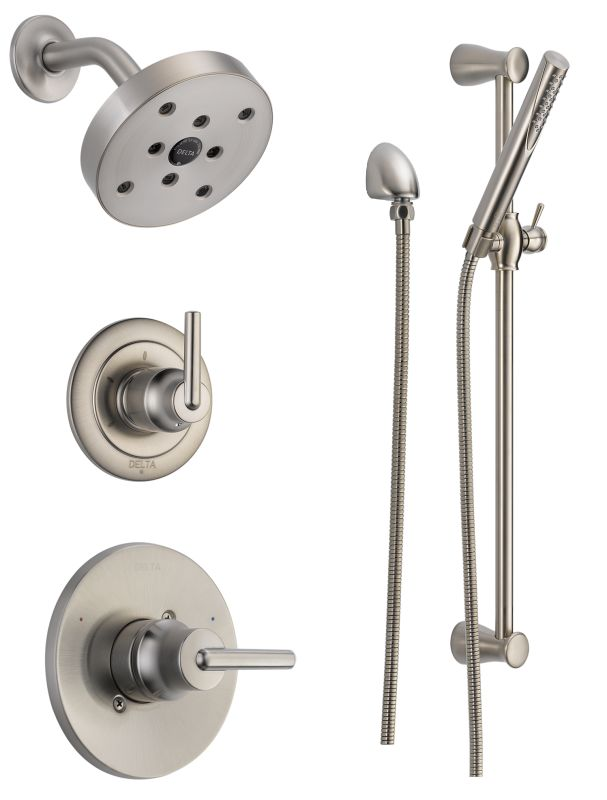 Delta DSS Trinsic 1401. Shop the Delta Trinsic Collection of Kitchen and Bar Faucets at