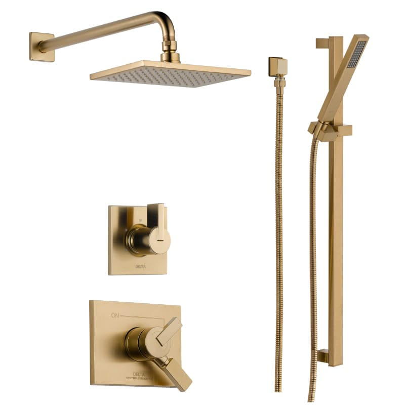 Faucet.com | DSS-Vero-1701CZ in Champagne Bronze by Delta