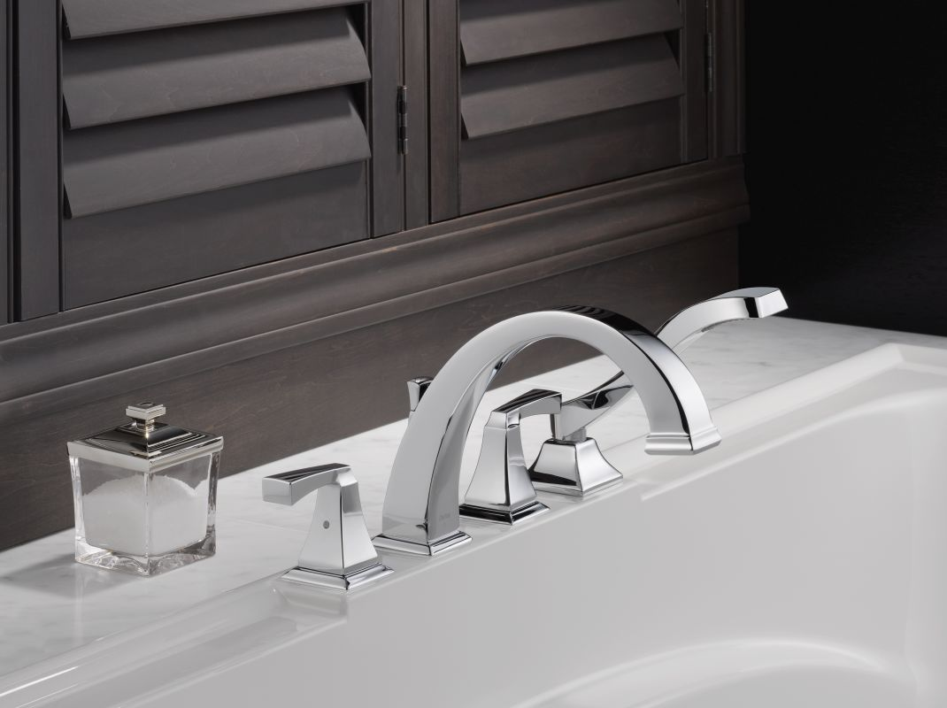 Faucet Com T4751 Pn In Brilliance Polished Nickel By Delta