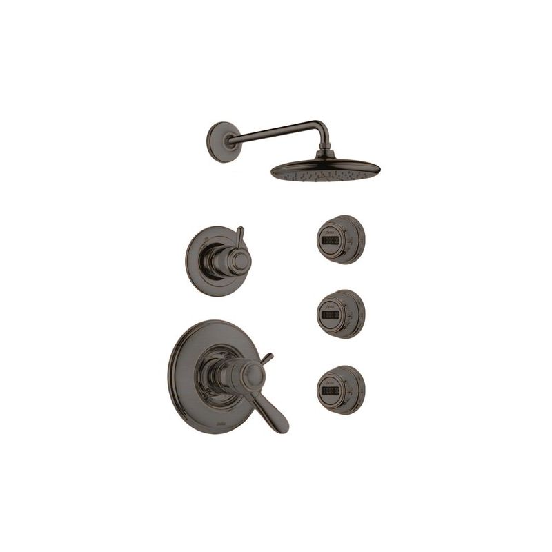 Good Faucet.com | Lahara Monitor 17 Series Shower System RB In Venetian Bronze  By Delta