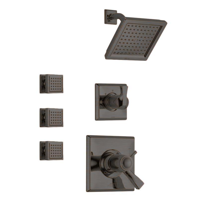 Faucet.com | Dryden TempAssure Shower Package RB in Venetian ...