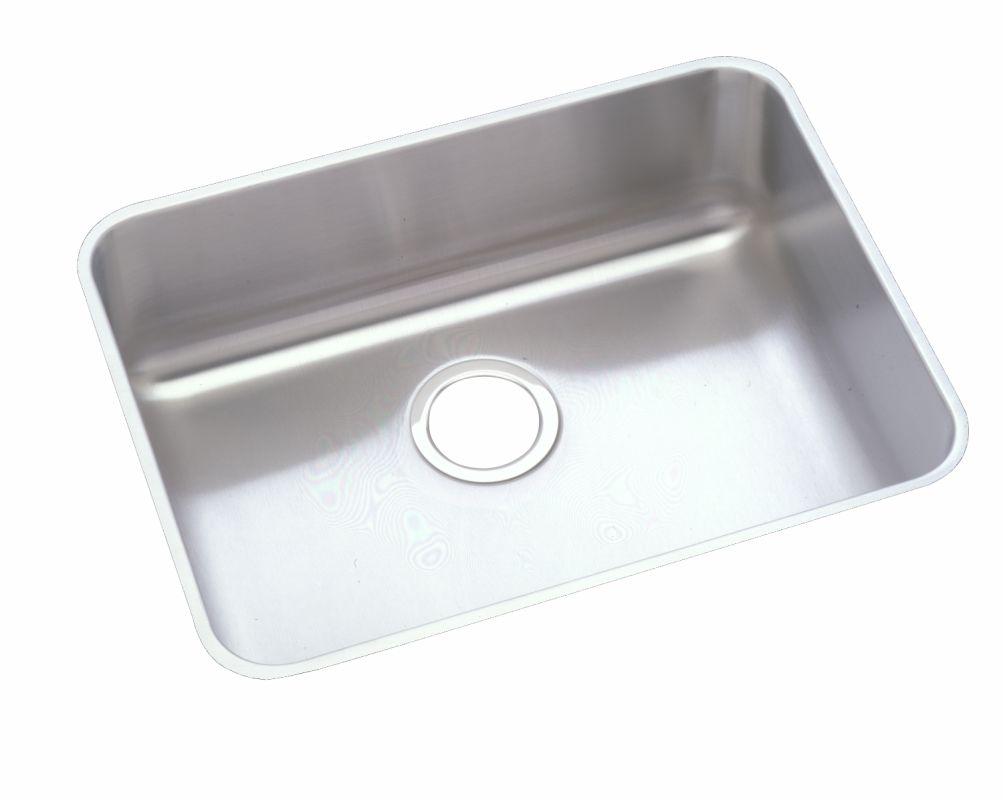 Faucet.com | ELUHAD211545 in 4.375 Inch Depth Stainless Steel by Elkay
