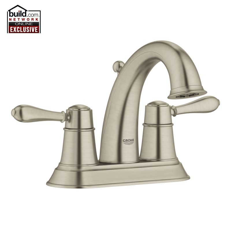 Bathroom Faucets Centerset faucet | 20424en0 in brushed nickelgrohe