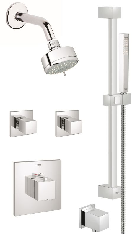 Gss Eurocube Cth 07 000 In Starlight Chrome By Grohe