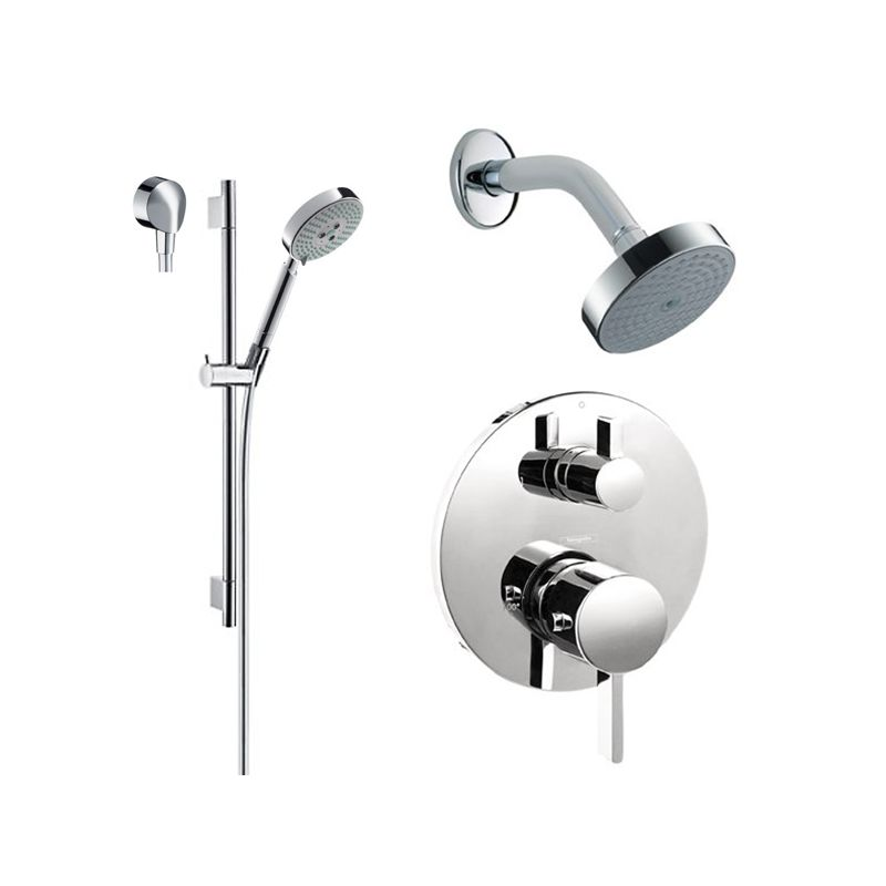 Faucet.com   HG-T201CR in Chrome by Hansgrohe