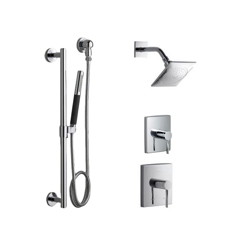 Faucet.com | K-STANCE-SHWR-BNDL-HS-CP in Polished Chrome by Kohler
