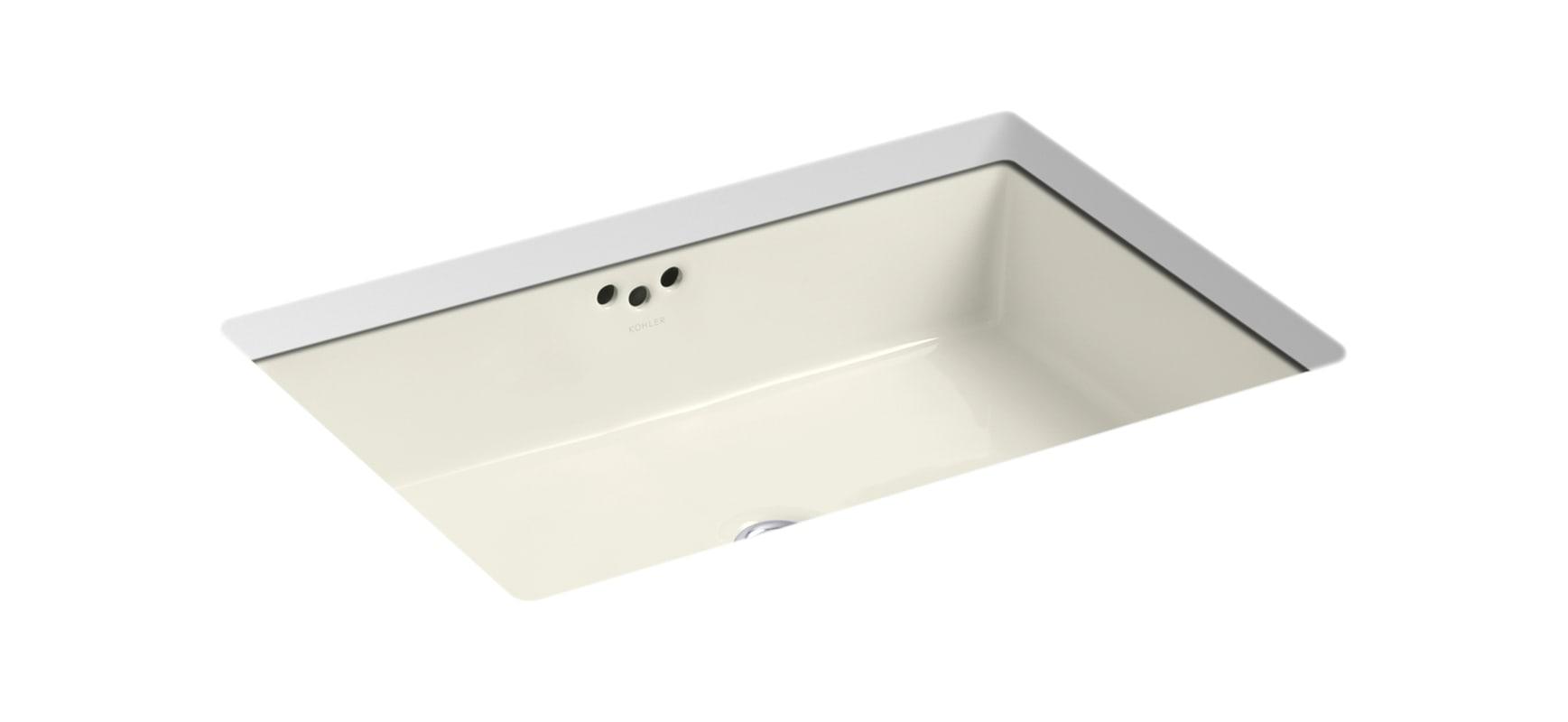 Kohler k 2200 vitreous china lavatory sink contemporary bathroom sinks - Kohler K 2297