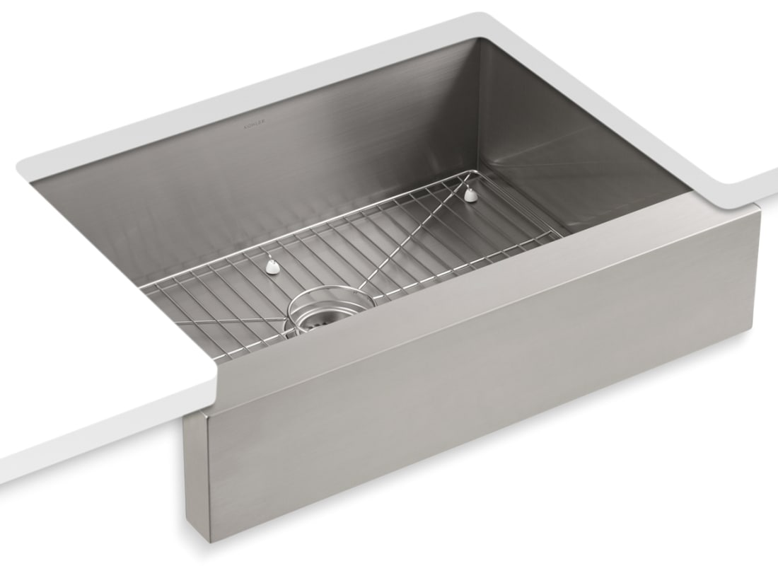 Kohler stainless steel triple bowl kitchen sink triple - Undermount 3 compartment kitchen sinks ...