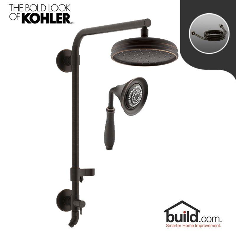Faucet.com | HydroRail K 13692/K 10286 2BZ Package In Oil Rubbed Bronze  (2BZ) By Kohler