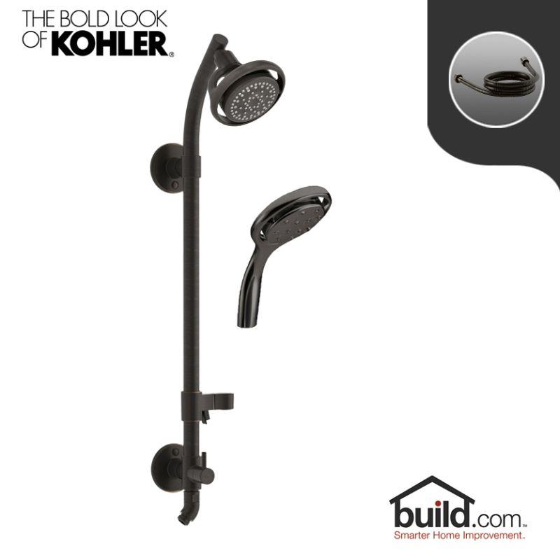 Faucet.com | HydroRail K 15996/K 17493 2BZ Package In Oil Rubbed Bronze  (2BZ) By Kohler