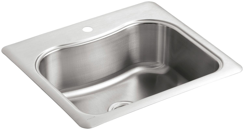 Kohler Stainless Steel Kitchen Sinks faucet | k-3362-1-na in stainless steelkohler