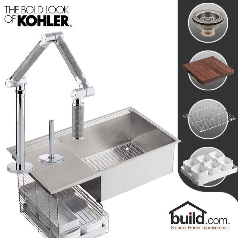 Faucet.com   K-3760/K-6227-C11-CP in Polished Chrome Faucet by Kohler