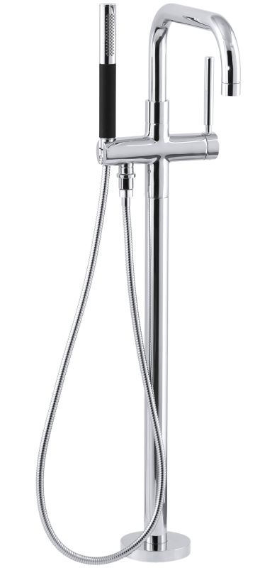kohler roman tub faucet with hand shower.  Faucet com K T97328 4 CP in Polished Chrome by Kohler
