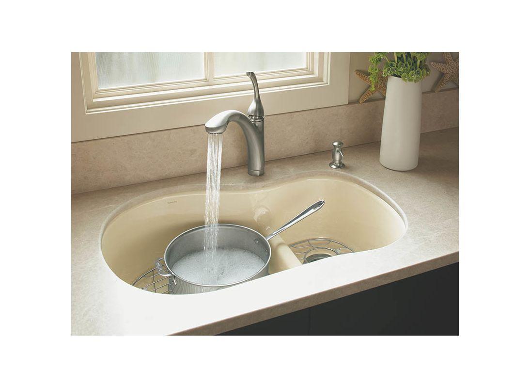 K 10433 vs in vibrant stainless by kohler - Koehler kitchen sinks ...