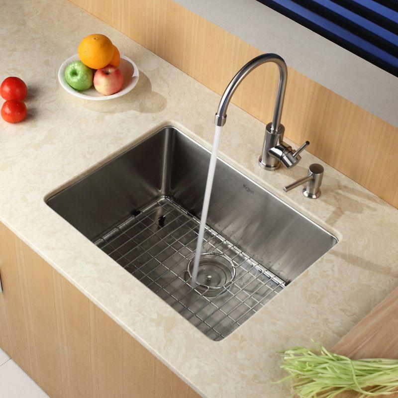 Kitchen Sink Rack: KHU101-23 In Stainless Steel By Kraus