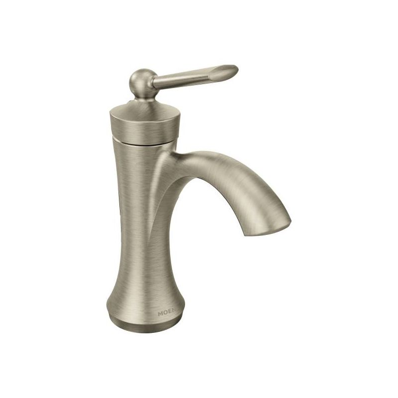 Bathroom Faucet Finishes 2017 faucet | 4500bn in brushed nickelmoen