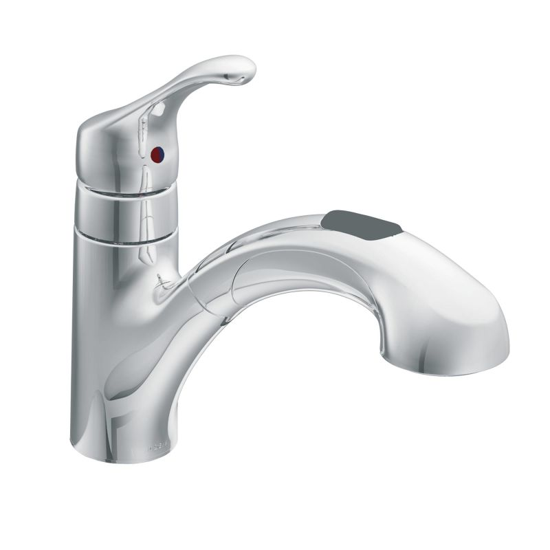 Delta Pull Out Kitchen Faucets faucet | ca87316c in chromemoen