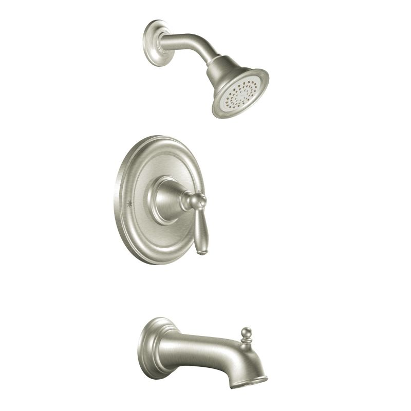 Faucet.com | T2153BN in Brushed Nickel by Moen