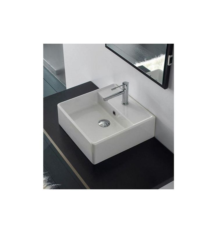Faucet com   Scarabeo 8031 R 40 One Hole in White   One Hole by Nameeks. Faucet com   Scarabeo 8031 R 40 One Hole in White   One Hole by