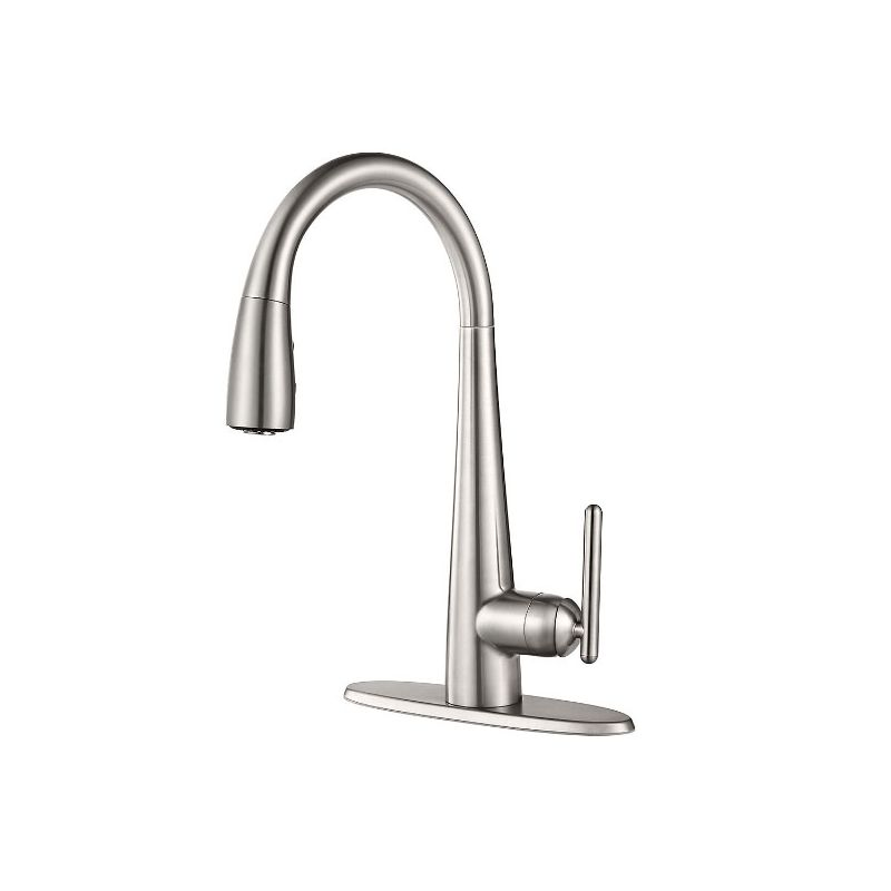 faucet com gt529 fls in stainless steel by pfister