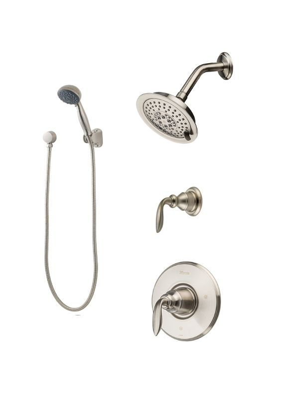 Faucet.com | B89-7CBK in Brushed Nickel by Pfister