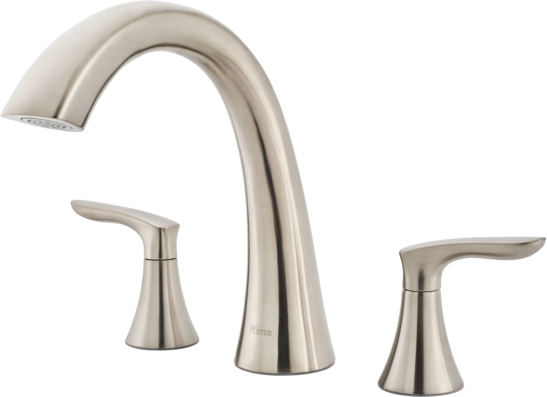 Click to view larger imageFaucet com   RT6 5WRK in Brushed Nickel by Pfister. Tuscany Roman Tub Faucet. Home Design Ideas