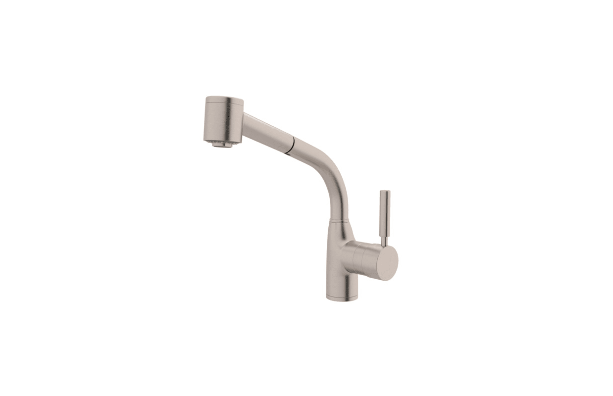 Rohl Pull Out Kitchen Faucet Faucetcom R7923apc In Polished Chrome By Rohl