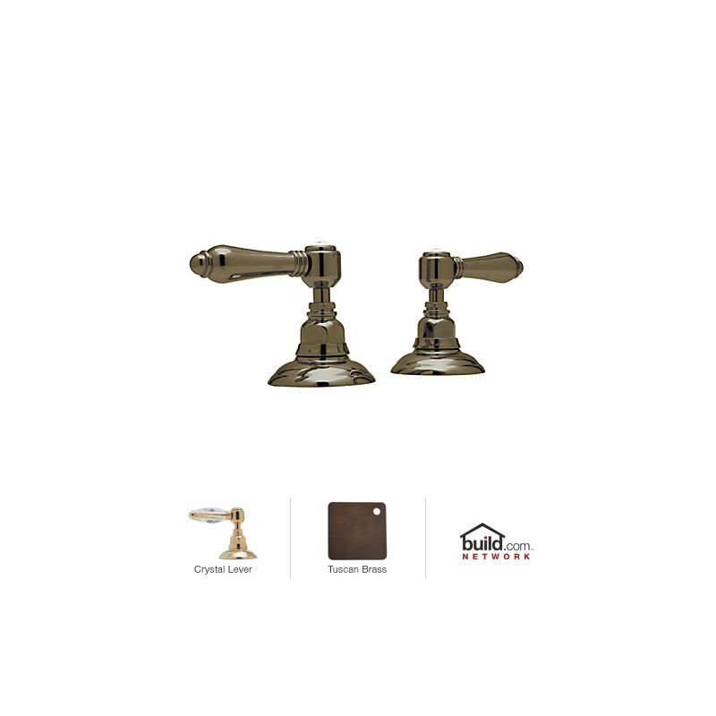 Faucet.com | A7422LCIB in Inca Brass by Rohl