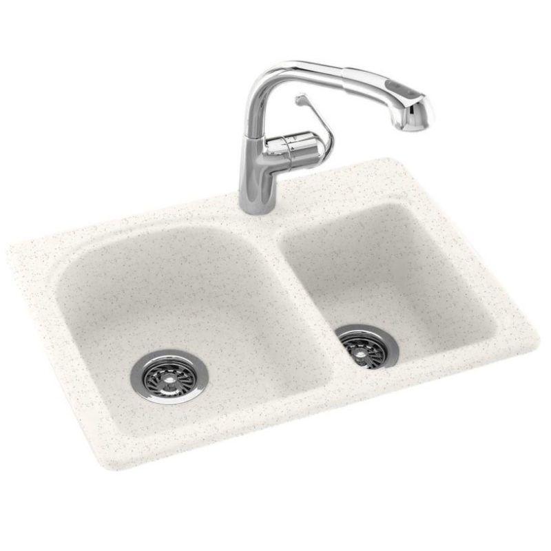Faucet.com | KS02518DB.035 in Arctic Granite by Swanstone