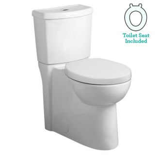 American Standard 2794 204 020 White Studio Elongated Two