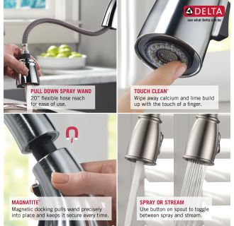Delta-9178-DST-Features of this Faucet
