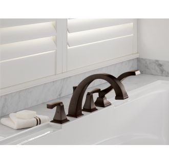 Delta-T4751-Installed Tub Filler in Venetian Bronze