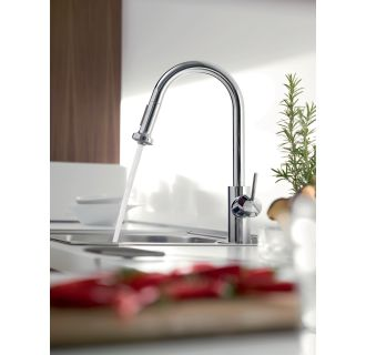 Hansgrohe-14877-Running Faucet in Chrome