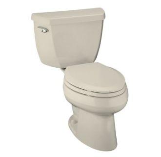kohler memoirs pedestal sink and toilet by kohler k t 47 almond wellworth pressure lite