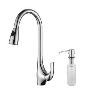 Kraus KPF-1621-KSD-30CH Chrome Pullout Spray Kitchen