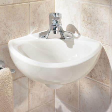 American Standard 0451 021 020 White Corner Minette 11