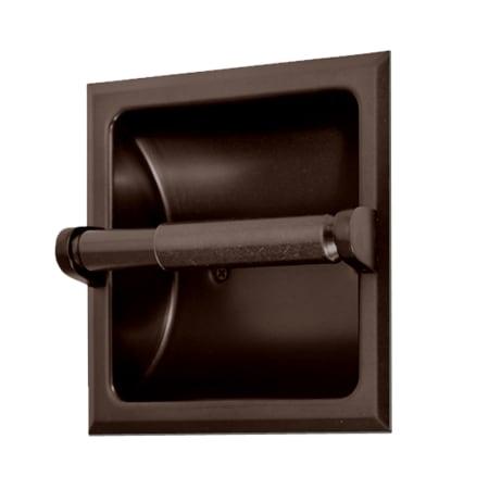 Gatco 784 Bronze Recessed Toilet Paper Holder