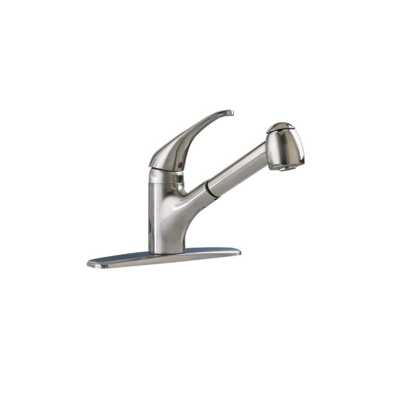 Black And Stainless Steel Kitchen Faucet
