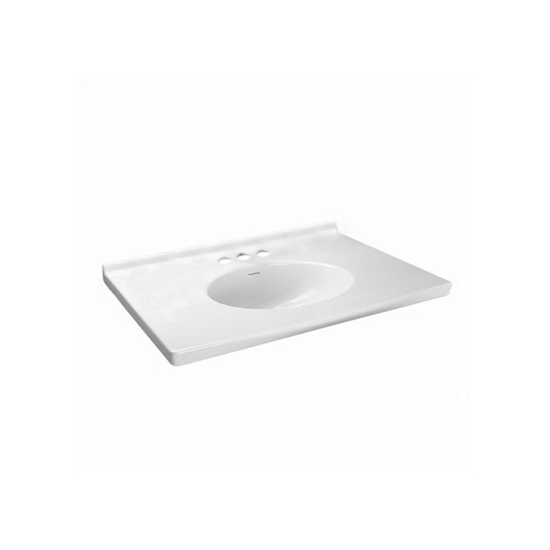 American Standard 7820 800 020 White Portsmouth Vanity Top