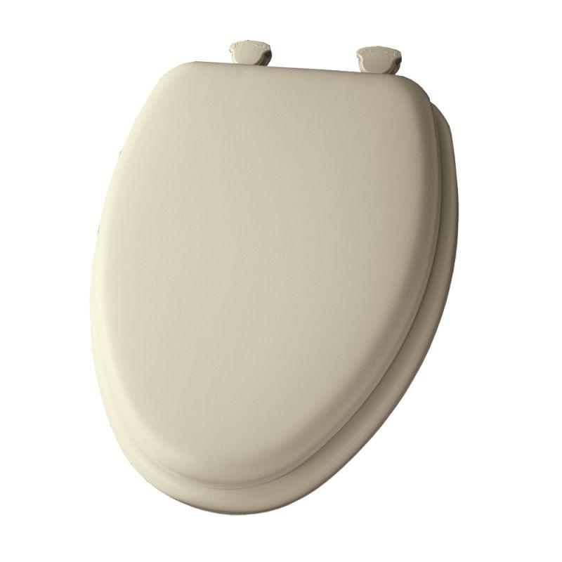 Bemis 113ec 006 Bone Elongated Cushioned Vinyl Soft Toilet