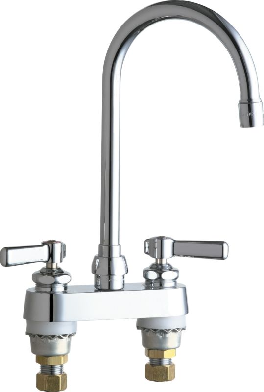 commercial grade kitchen faucets chicago faucets 895 gn2ae3abcp chrome grade 16777