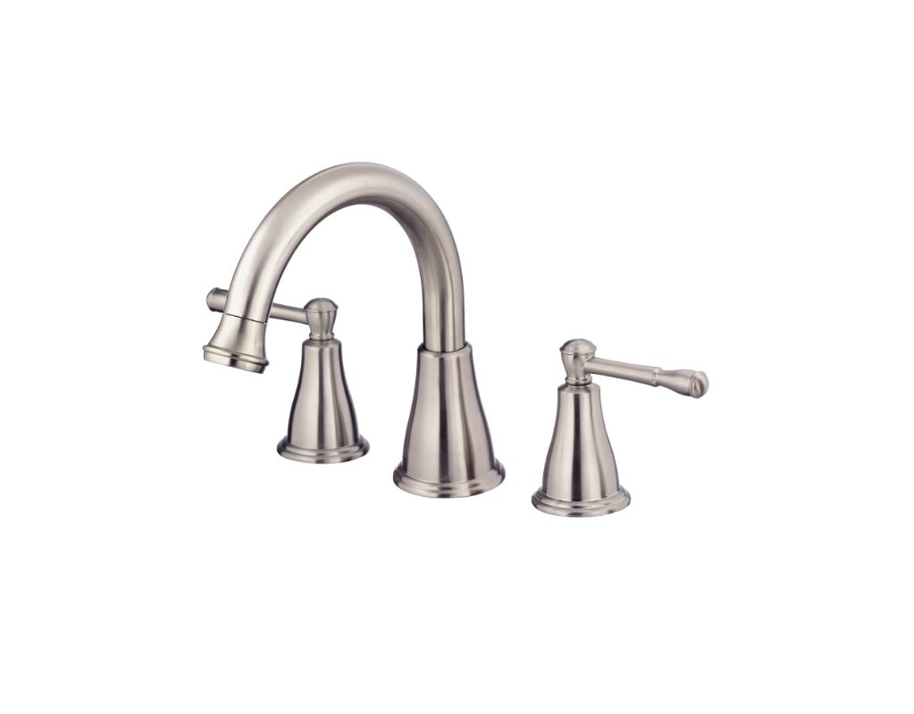 Danze D300915bnt Brushed Nickel Deck Mounted Roman Tub Faucet Trim From The Eastham Collection