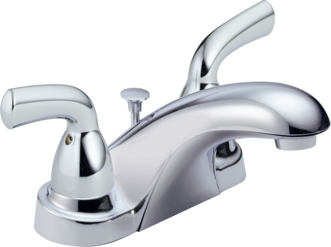 Foundations 4 In Centerset Single Handle Bathroom Faucet