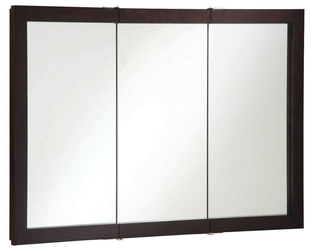 Design House 541367 Espresso 48 Quot Framed Triple Door