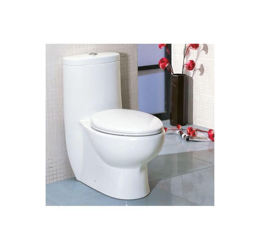 Eago Tb309 White Dual Flush Toilet One Piece Elongated