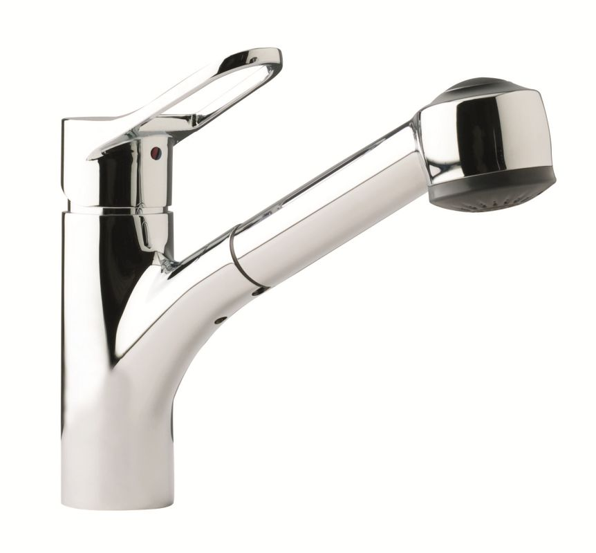 Franke FFPS200 Chrome Pullout Spray Kitchen Faucet