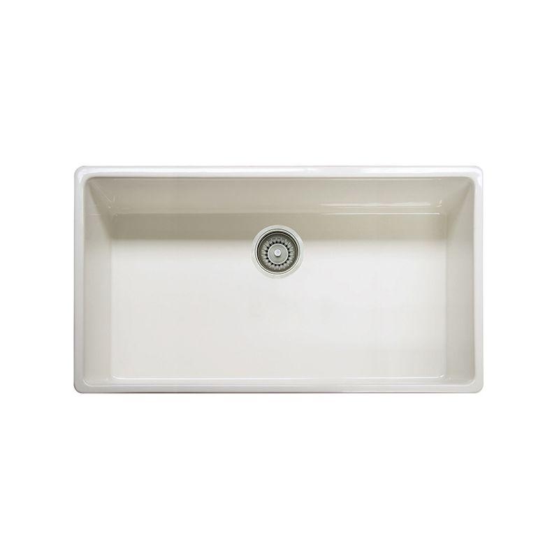 Franke FHK710-36LN Linen Farm House Kitchen Sink Single