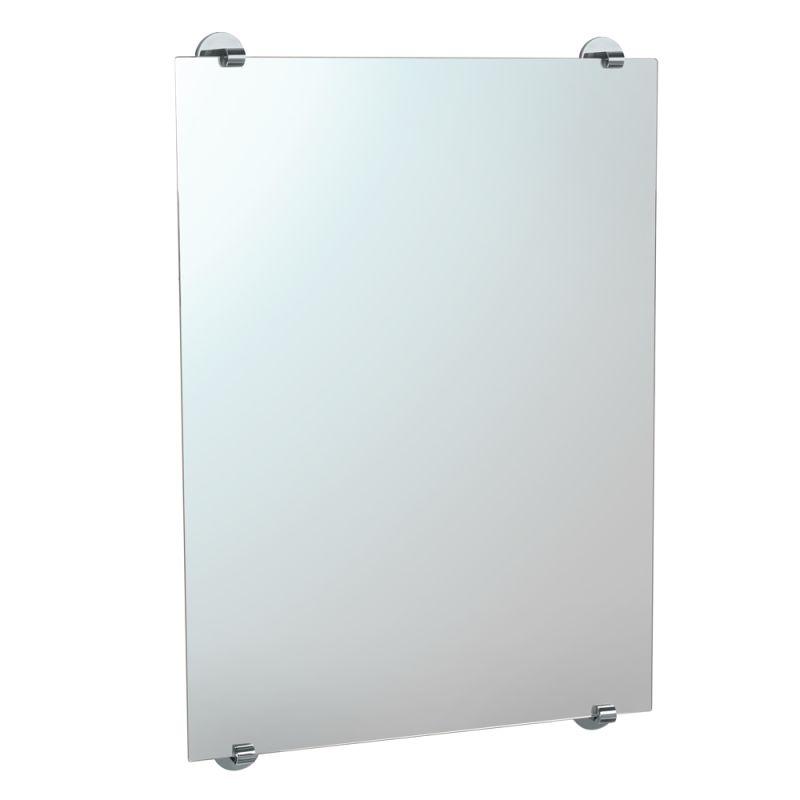 Gatco 1568 Chrome Minimalist Hanging Wall Mirror